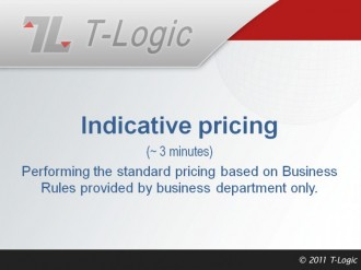 Indicative Pricing